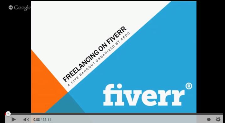كيف تبدأ و تنجح علي موقع فايفرر؟ فيديو و أمثلة حية لشباب ناجح